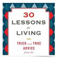 30 Life Lessons book.
