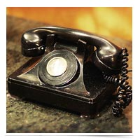 Antique phone.