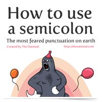 How to Use the Semicolon