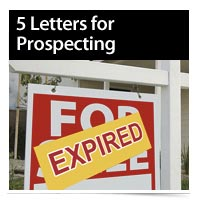 Download 5 Letters for Prospecting Expireds