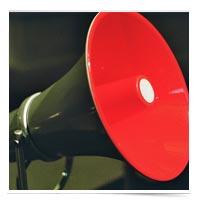 Guest post megaphone