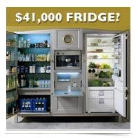 The $41,000 FRIDGE?!