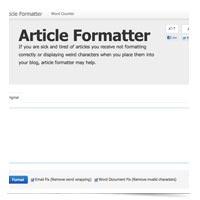 Article Formatter