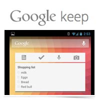 Image of Google Keep