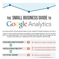 Image of Google Analytics Small Business Guide website.