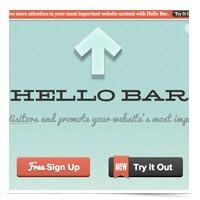 Image of HELLO BAR logo.