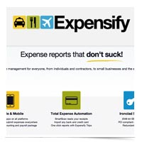 Image of Expensify logo.