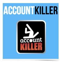 Image of ACCOUNT KILLER logo.