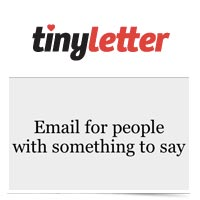 Image of TinyLetter Logo