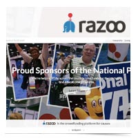 Image of Razoo logo