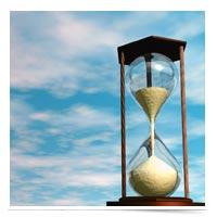 Image of hour glass.