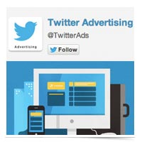Image of Twitter Advertising Logo.