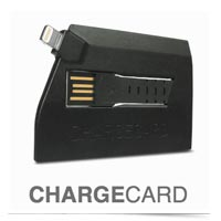 Image of Chargecard USB iPhone charger