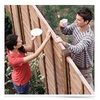 Neighbors over the fence