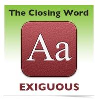 The Closing Word: Mulct