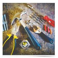 Tools for repairs.