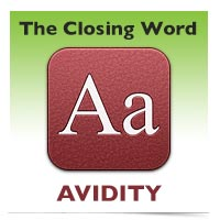 The Closing Word: Alacrity