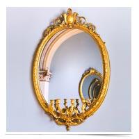 Mirror in a mirror in a mirror.