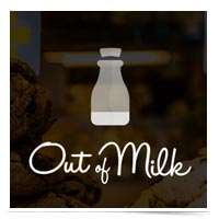 Out of Milk logo