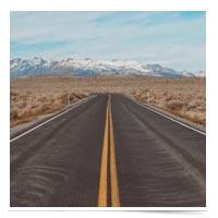 Empty highway.