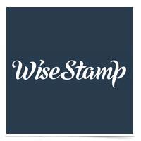 WiseStamp logo.