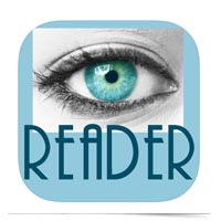 EyeReader logo.