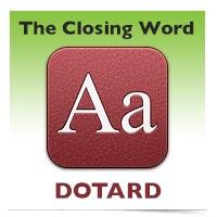 The Closing Word: Dotard