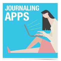 Apps to help you keep a journal.