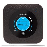 Mobile hot spot by Netgear for AT&T.