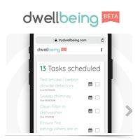 Dwellbeing logo.