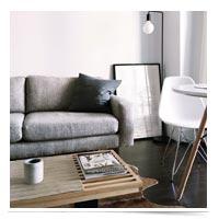 Staged livingroom.