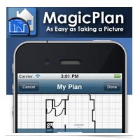 Magic Plan app for iPhone and iPad