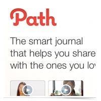 Path.com, a new way to journal your life.