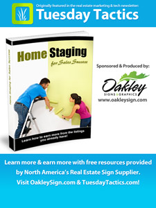 Home Staging for Sales Success by Oakley Signs & Graphics eBook